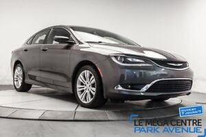 2015 Chrysler 200 Limited, SIEGES CHAUFFANTS, CAMERA