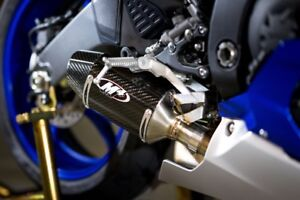 M4 Exhaust Yamaha R6 2006-2017 Street Slayer slip on with CARBON muffler