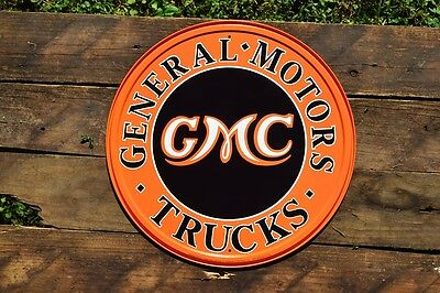 General Motors Trucks Tin Metal Sign   Gmc   Sierra   Denali   Canyon   Dealer