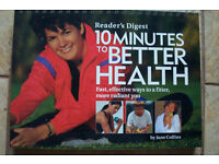 READER'S DIGEST 10 MINUTES TO BETTER HEALTH HARDBACK