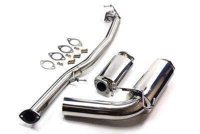 Miata Performance Exhaust - ISR Performance Mazda Miata NA 1.6 Circuit Spec Exhaust 89 - 93 exhaust Muffler