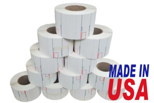 CAS 8020 Printing Scale Label, 58 x 40 mm, UPC12 Rolls Per Case