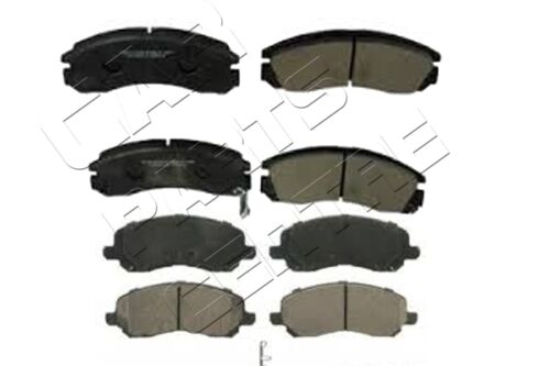 FOR MITSUBISHI OUTLANDER FRONT and REAR BRAKE PADS FULL SET BRAND NEW