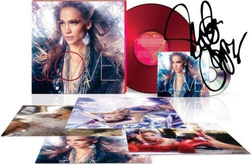 Jennifer Lopez SIGNED AUTOGRAPH LOVE? Glitterati Box Set CD Vinyl LP Litho NEW