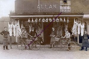 rp13270 - F Allan , Butcher , Broad Street , New Alresford - photo 6x4