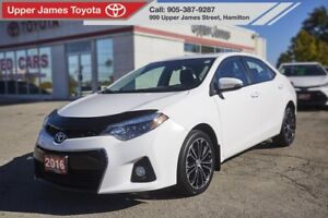 2016 Toyota Corolla S SPORT UPGRADE LEATHER AND SUNROOF