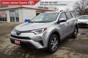 2017 Toyota RAV4 LE LE UPGRADE PACKAGE AWD