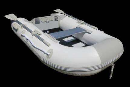 Newport 2.30m Inflatable Boat - Timber Slat Floor - 2 YR Warranty