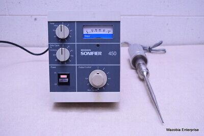 Vwr Scientific Branson Sonifier 450 With Probe
