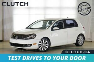 2012 Volkswagen Golf Highline TDI $70 Weekly OAC