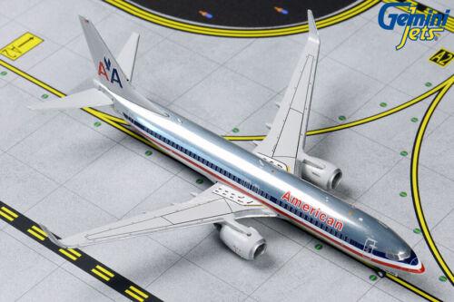 GEMINI JETS (GJAAL1802) AMERICAN AIRLINES 737-800 1:400 SCALE DIECAST METALMODEL