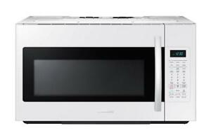 Samsung 1.8 cu. ft. Over-the-Range Microwave Hood Combo with Ceramic Cavity in White (SAM1006)