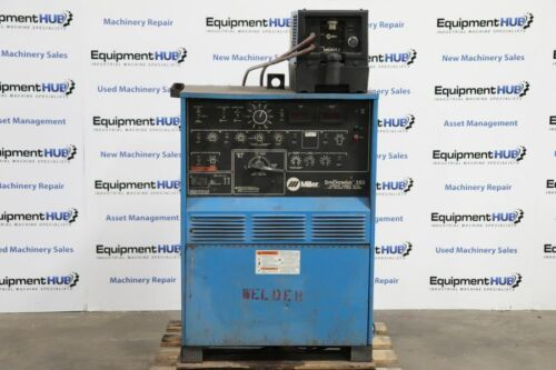 Miller Syncrowave 350 AC/DC Tig Welder Power Source w/ Coolmate 3