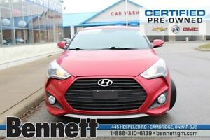 2013 Hyundai Veloster Turbo - Leather, Sunroof, Navigation
