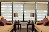 LUXURY WINDOW COVERINGS UP TO 60% OFF SHUTTERS SHADES BLINDS