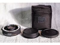 Sigma 1.4x tele converter for Canon DSLR cameras like 5d ii iii iv 5ds 5dsr 1ds 1d 1dx 7d 7d 80d 70d