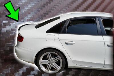 Audi A4 Tuning B8 Carbono Alerón Rebordes Trasero Labio Posterior Coche Piezas