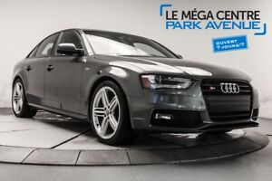 2015 Audi S4 3.0T CUIR TOIT B.CHAUF MAGS BTH **TRES PROPRE**
