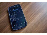 samsung galaxy s3 smartphone blue