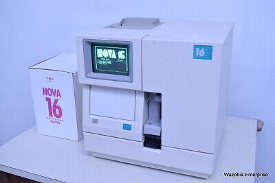 Nova Biomedical Electrolyte 16 Analyzer Model Nova 16