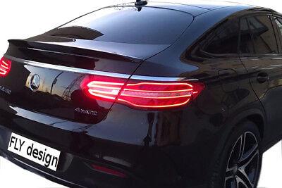 Heckspoiler für Mercedes GLE Coupe C292 AMG typ Hecklippe aus ABS unlackiert lip