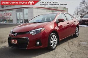 2014 Toyota Corolla S GREAT VALUE, SPORT EDITION