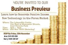 Business Preview - Forex West Perth Perth City Preview