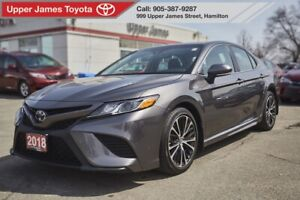 2018 Toyota Camry SE SE UPGRADE PACKAGE MOONROOF/ALLOY/LEATHER