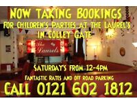 Room available for Kids Parties Also Mobile skittle alley available for events.