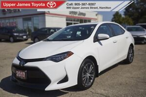2017 Toyota Corolla LE LE UPGRADE PACKAGE MOONROOF
