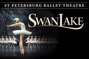 Premium tickets St Petersberg Swan Lake Ballet-Adelaide St Agnes Tea Tree Gully Area Preview