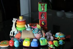 Baby toys - Little Mole, Sophie, cars