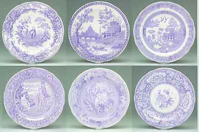 Spode ARCHIVE COLLECTION LILAC Set Of 6 Dinner Plates (Georgian) 2318653