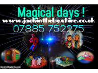 soft play bouncy castle kids disco childrens entertainment party packages