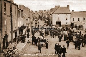 rp15050 - The Diamond , Ballycastle , Co Antrim , Ireland - photo 6x4