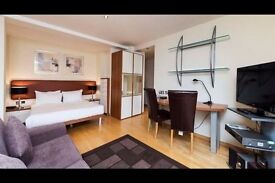 Luxury studio flat. Internet, GYM + SPA. Close to South Kensington and Gloucester Rd tube. Avail