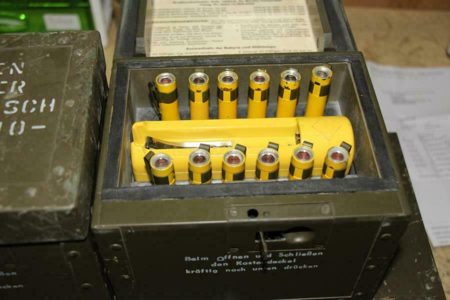 Original Bundeswehr TDV  Strahlendosimeter takt Elektronischer Antennenver.