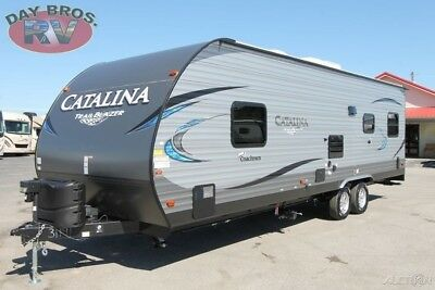 19 Coachmen Catalina Trail Blazer 26TH New Towable RV Travel Trailer Toy Hauler