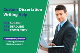 EXPERT HELP: DISSERTATION / ASSIGNMENT / ESSAY / PROPOSAL / SPSS/MATLAB/WRITING-PROOFREAD & EDITING