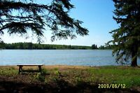 Lakefront lot for sale on quiet lake