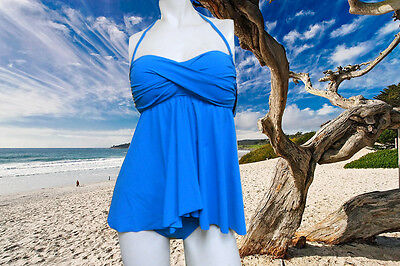 NWT PROFILE by GOTTEX Lagoon HALTER Fly-Away Tankini BATHING SUIT Swimsuit - 8 - Fly Away Halter