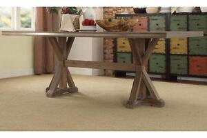 HOMELEGANCE BEAUGRAND COLLECTION 5177-84 DINING TABLE 70 PERCENT OFF THIS WEEK ONLY!