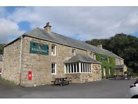 FULL & PT BAR/WAITING STAFF FOR LOVELY COUNTRY PUB IN OTTERBURN, NORTHUMBERLAND