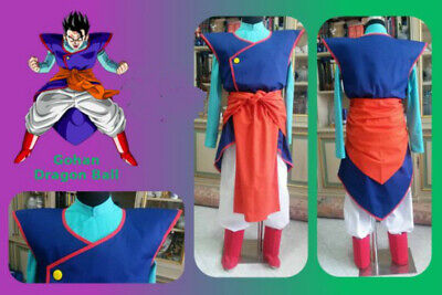 2019NEw! Dragon Ball Cosplay Gohan Costume Uniform Suit ](Gohan Costumes)