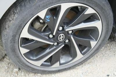 2016 SCION IM 17x7 Alloy Wheel Rim 10 Twisted Spoke Black Silver 628592