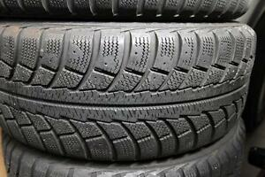 205/65R15 set of 4 Gislawed Winter Used (inst. bal.incl) 70% tread left