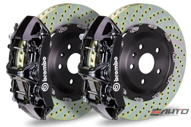Brembo Front Gt Bbk Big Brake Kit 6piston Black 380x34 Drill A6 A7 C7 3.0 12-14