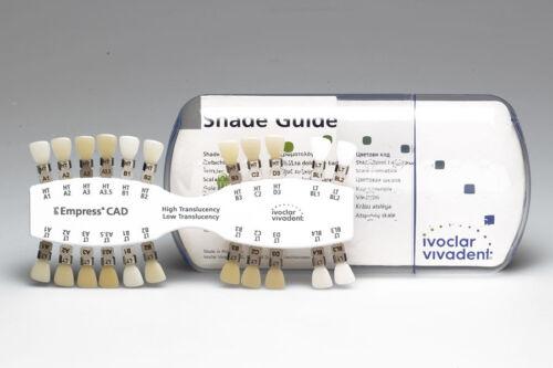 IPS EMPRESS CAD HT/LT SHADE GUIDE A-D/BL - Ivoclar