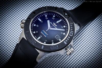 Glycine Combat Aquarius ref. 3946.199.D9 Black Automatic Watch - GL0039