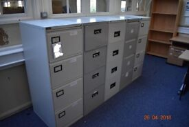 Four draw filing cabinet